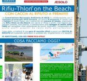 Rifiuthlon- caccia al rifiuto 11 ottobre 2019 Jesolo zona faro