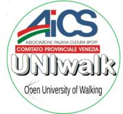 Nasce UNIwalk – Aics Venezia, il primo corso