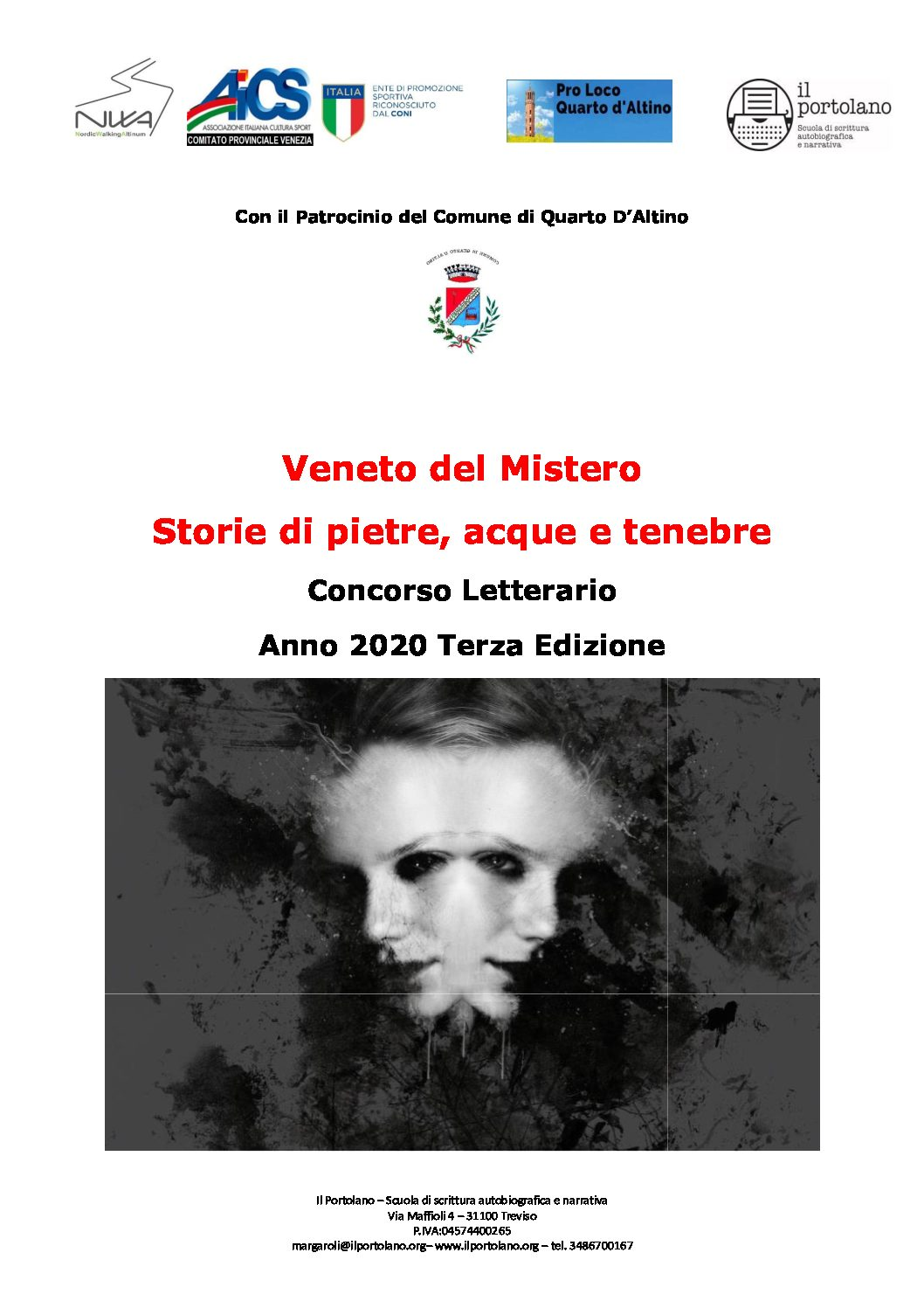 Veneto del Mistero 2020 – concorso letterario terza edizione