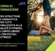 CORSO DI FORMAZIONE PER ISTRUTTORE DI GINNASTICA FINALIZZATA ALLA SALUTE E AL FITNESS